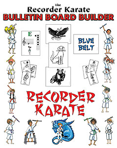 The Recorder Karate Bulletin Board Builder