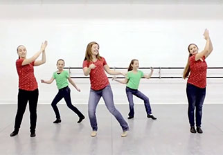 Choreography video from the current issue of Music K-8 magazine.