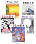 Music K-8 Vol. 10 Full Year (1999-2000) - Downloadable  Back Volume - PDF Mags w/Audio Files & PDF Parts