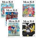 Music K-8 Vol. 14 Full Year (2003-04) - Downloadable  Back Volume - PDF Mags w/Audio Files & PDF Parts