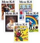 Music K-8 Vol. 15 Full Year (2004-05) - Downloadable  Back Volume - PDF Mags w/Audio Files & PDF Parts