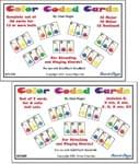 Color Coded Handbell Cards