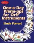 One-A-Day Warm-Ups For Orff Instruments - Book