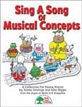 Sing A Song Of Musical Concepts - Hard Copy Book/Downloadable Audio