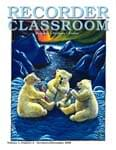 Recorder Classroom, Vol. 1, No. 2 - Downloadable  Issue - Magazine with Audio Files