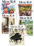 Music K-8 Vol. 19 Full Year (2008-09) - Downloadable Back Volume - PDF Mags w/Audio Files