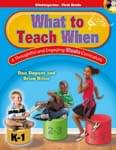 What To Teach When - K-1 - Book/CD-ROM ISBN: 9781429131148