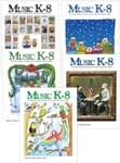 Music K-8 Vol. 25 Full Year (2014-15) - Downloadable Back Volume - PDF Mags w/Audio Files
