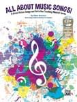 All About Music Songs! - Book/Enhanced CD UPC: 4294967295 ISBN: 9781470633813
