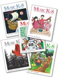 Music K-8, Vol. 30 (2019-20) - Subscription - Print Magazines w/CDs
