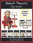 Smart Theory - The Staff - Student Activity Book ISBN: 9781989166383