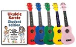 Diamond Head Ukulele - Red w/ Ukulele Karate Student Book
