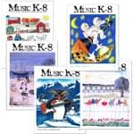Music K-8 Vol. 11 Full Year (2000-01) - Downloadable  Back Volume - PDF Mags w/Audio Files & PDF Parts