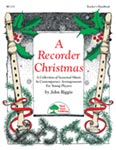 Recorder Christmas, A - Hard Copy Book/Downloadable Audio