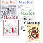 Music K-8 Vol. 3 Full Year (1992-93) - Downloadable  Back Volume - PDF Mags w/Audio Files & PDF Parts