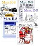 Music K-8 Vol. 4 Full Year (1993-94) - Downloadable  Back Volume - PDF Mags w/Audio Files & PDF Parts
