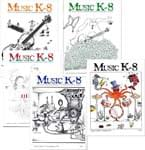 Music K-8 Vol. 5 Full Year (1994-95) - Downloadable  Back Volume - PDF Mags w/Audio Files & PDF Parts