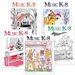 Music K-8 Vol. 8 Full Year (1997-98) - Downloadable Back Volume - PDF Mags w/Audio Files