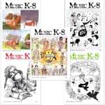 Music K-8 Vol. 9 Full Year (1998-99) - Downloadable  Back Volume - PDF Mags w/Audio Files & PDF Parts
