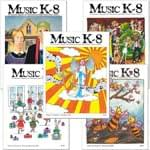 Music K-8 Vol. 12 Full Year (2001-02) - Downloadable  Back Volume - PDF Mags w/Audio Files & PDF Parts